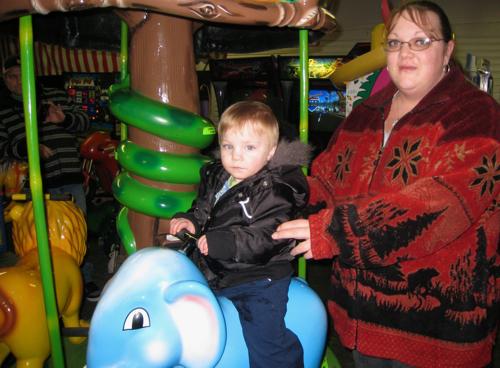 Riding the blue elephant