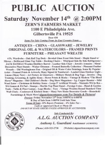 Zerns_Public_Auction_November_14_15